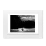 A4 B&W print rower in Oxford