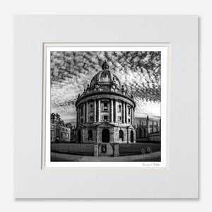 B&W art print Oxford Radcliffe Camera