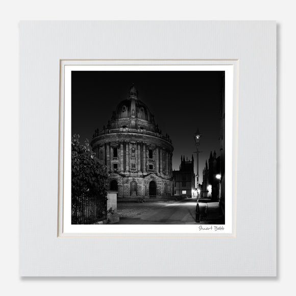 Black and White print Radcliffe Square Oxford
