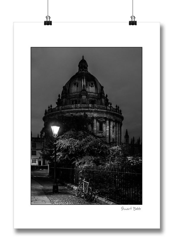 B&W fine art print Radcliffe Camera Oxford