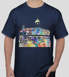 Sheldonian Oxford navy t-shirt