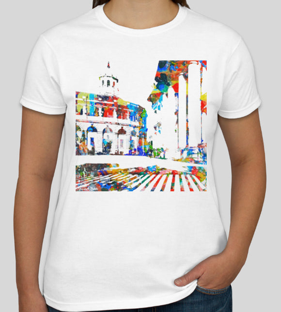 Sheldonian Theatre Oxford University white souvenir t-shirt