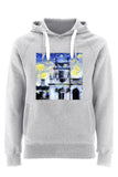 Trinity College Oxford University unisex grey organic cotton hoodie