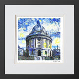 Framed modern art print Oxford