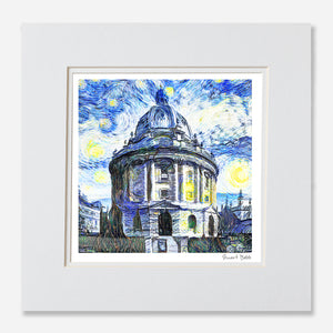 Modern Art Print Oxford Radcliffe Camera