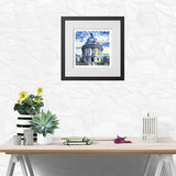 Modern Art Print Radcliffe Camera Oxford