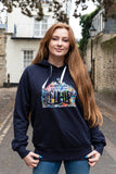 Oxford ladies Hoodie with Radcliffe Camera