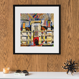 Wadham College Oxford Art Print