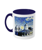 Sheldonian Oxford Alumni Mug with navy blue handle