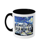 Oriel College Oxford Alumni mug with black handle