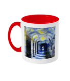 Corpus Christi College Oxford Alumni mug with red handle