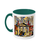 Lady Margaret Hall College Oxford Mug  green