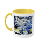 Christ Church College Oxford Alumni Mug with yellow handle