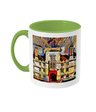 Wadham College Oxford mug light green