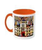 Wadham College Oxford mug orange