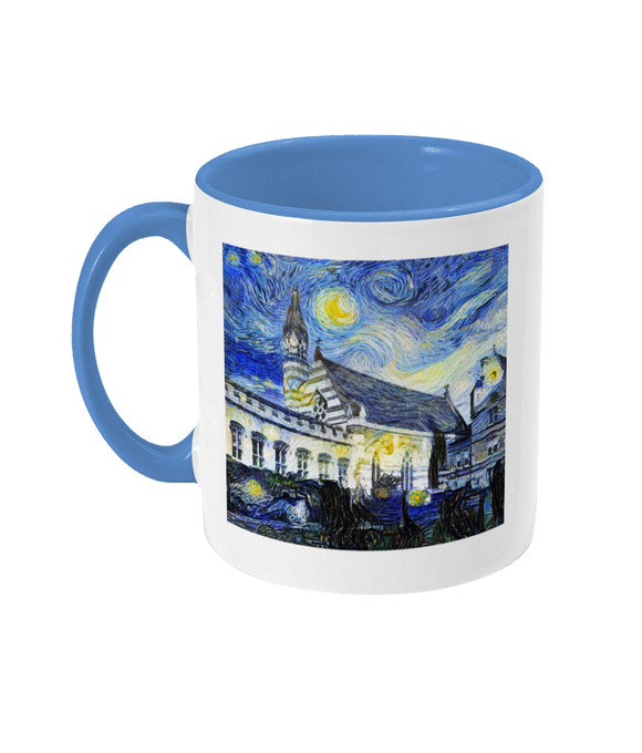 Balliol College Oxford Alumni mug with light blue handle