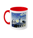 Sheldonian Oxford Alumni Mug with red handle
