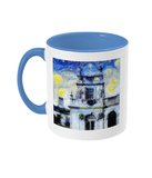 Trinity College Oxford Alumni Mug with light blue handle