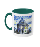 Radcliffe Camera Oxford Alumni Mug with green handle
