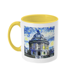 Radcliffe Camera Oxford Alumni Mug with yellow handle