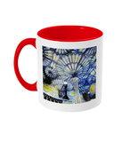 Christ Church College Oxford Alumni Mug with red handle