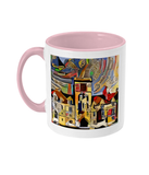 Balliol College Oxford Mug pink