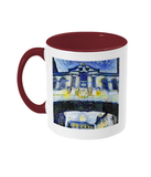 Bridge of Sighs Oxford Alumni mug with burgundy handle