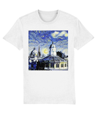 Oxford University Spires Unisex Organic cotton white t-shirt with art design