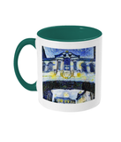 Bridge of Sighs Oxford Alumni mug with green handle