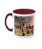 Balliol College Oxford Mug burgundy