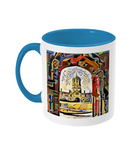 Oxford university light blue mug Christ Church college Oxford