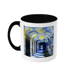 Corpus Christi College Oxford Alumni mug with black handle