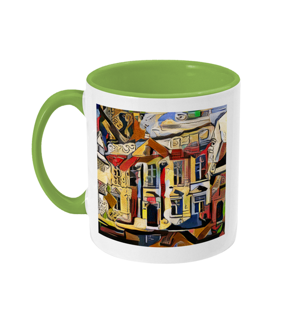 Teddy Hall Oxford mug light green