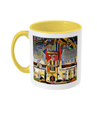 Mansfield college oxford mug yellow