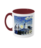 Sheldonian Oxford Alumni Mug with burgundy handle