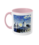 Sheldonian Oxford Alumni Mug with pink handle