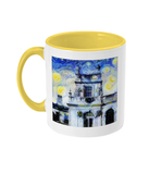 Trinity College Oxford Alumni Mug with yellow handle