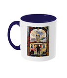 Queens College Oxford Mug with navy handle