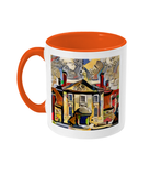 Lady Margaret Hall College Oxford Mug orange