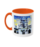 Trinity College Oxford Alumni Mug with orange handle