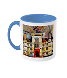 Wadham College Oxford mug light blue