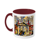 Lady Margaret Hall College Oxford Mug burgundy