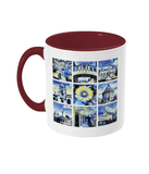 Oxford University Alumni Mug with burgundy handle