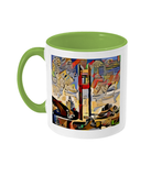 St. Cats Oxford green mug