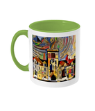 Balliol College Oxford Mug light green
