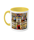 Wadham College Oxford mug yellow