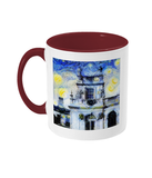 Trinity College Oxford Alumni Mug with burgundy handle