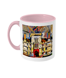Wadham College Oxford mug pink