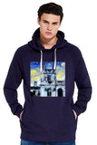 Trinity College Oxford University men's navy organic cotton hoodie