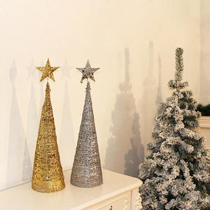 Glitter Cone Christmas Tree